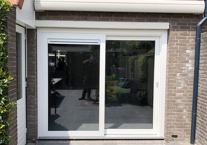 Kunststof hef- schuifpui Waddinxveen.